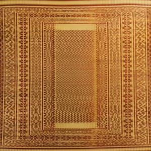 Maroon Zigzag Masland Mat